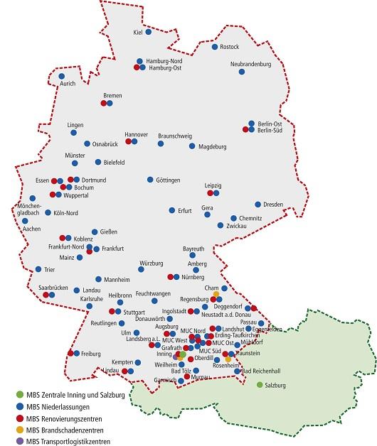 Radon Karte Unterfranken.Mbs Schadenmanagement Gmbh Mbs Renovierung Gmbh